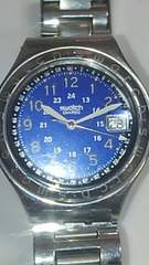 スウォッチ 腕時計switch スイス クォーツ レディース ブルー