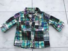 RAG MARTチェックシャツ☆80cm☆ラグマート