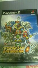 第2次スーパーロボット対戦a PS2 中古 説明書つき
