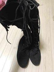 100スタ ミネトンカ MINNETONKA 6 23cm黒
