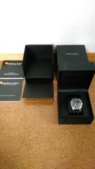 格安出品!!グアム購入HAMILTON腕時計