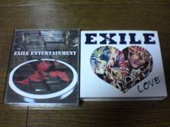 EXILE CD+DVD LOVE ENTERTAINMENT2枚セット