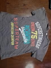 *かっこいいグレーのTシャツ*サイズ・120センチ*