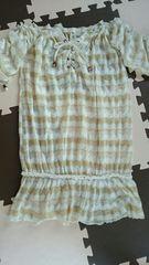 リズリサ カギ編みチュニック