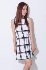 人気完売★エゴイスト★ウィンドウチェックワンピース ブラック/F 新品タグ付 未開封
