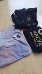 KREVAタオル&Tシャツ&バッジセットおまけかばん
