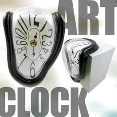 ダリのようなアートクロック/置き時計