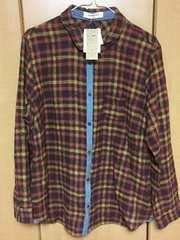 新品★タグ付き長袖3Lシャツ(秋冬物?)¥350スタ
