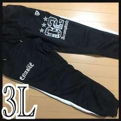 3L・英字スウェットパンツ新品/MCG-7102