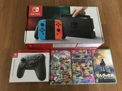 Nintendo Switch 本体 ソフト付き
