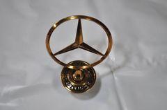 W220 ベンツ ボンネットマスコット ゴールド