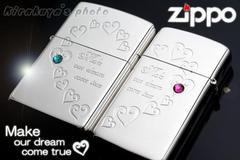 ZIPPOライター ハートフルペアジッポHFPR-ASP