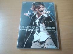 中河内雅貴DVD「Masataka Nakagauchi 1st LIVE Stand Up!!!」●