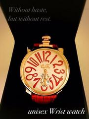 英国GAGAガガミラノTYPE/インスパイアClubface腕時計