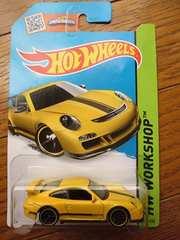 ホットウィール ポルシェ 911 GT3 RS イエローPORSCHE黄ホットホイール