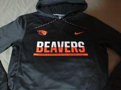 Nike【THERMA-FIT】OREGON ST BEAVERSパーカーUS M