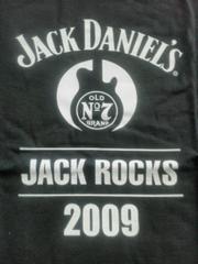 ジャックダニエルJACK ROCKS2009 Tシャツ新品M ギター 限定企画