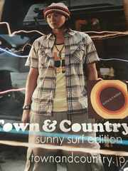 SMAP 木村拓哉 ポスター sunny surf edition Town&Country