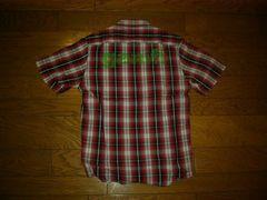 新品G1950背ロゴチェックシャツS赤系ギャラリーGallery
