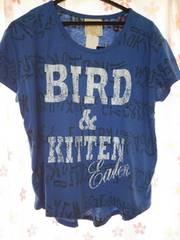 ブルー新品Tシャツ