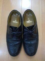 【Used】REGAL リーガル/ウィングチップ/25cm