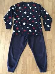 17■キッズ 冬用 パジャマ 上下 セット 120cm 厚手 切手払い可能