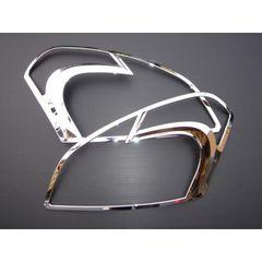 日産 クロームメッキヘッドライトリング ヘッドライトリム デュアリス J10