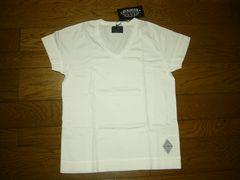新品CRIMIEクライミーカットソーS白VネックTシャツ