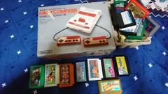 1970…85年ファミリーコンピュータ…カセット式本体カセット28個