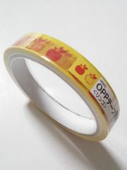 キュート柄テープ★リンゴ☆OPPテープ