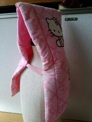 小学生用、防災頭巾!防空頭巾!キティちゃん