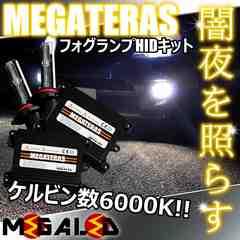 mLED】エスティマAERAS50前期/フォグランプHIDキット/HB4/6000K