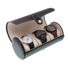 腕時計 収納ケース 時計ケース 3本 円筒形