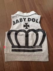 BABY DOLL美品ベスト80ミッキー