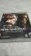 PS3☆メタルギアソリッドV GROUND ZEROES☆