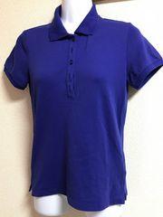 ★UNIQLO ブルー×ポロシャツ  M★