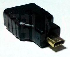 HDMI(メス)─マイクロHDMI(オス)変換プラグ/コネクタ▼HDMImicroプラグ(タイプD)