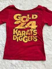 24Karats  首元切りっぱなしTシャツ  XSサイズ
