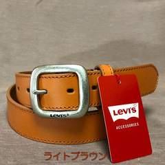 LEVI'S リーバイス 牛革 ベルト 35mm 6021 ライトブラウン