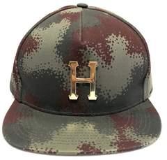 HUF スナップバックキャップ カモ ロゴ FTC