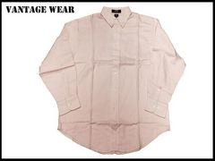 50%OFF! 得! 新品VANTAGE USA   ワイド ボデイ メンズシャツ ビッグサイズ