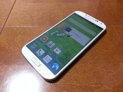 即落/即発!!美中古品 SC-04E Galaxy S4 ホワイト