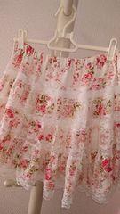 LIZ LISA リズリサ パワーネット花柄スカート