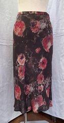 □ストロベリーフィールド□日本製 花柄ロングスカート