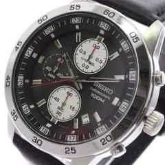 セイコー SEIKO 腕時計 メンズ SKS649P1 クォーツ ブラック