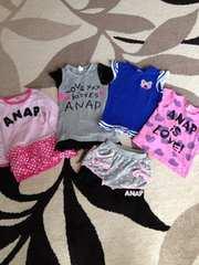 ANAP アナップまとめ売り 100センチ Tシャツ ワンピ