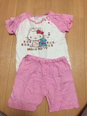 キティちゃん半袖パジャマ90