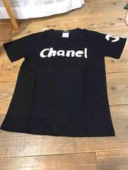 シャネル chanel ノベルティ tシャツ 黒 mサイズ バッグリュック