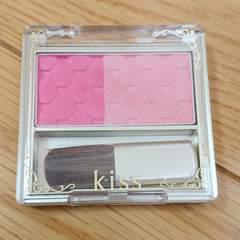 kissキス ピュアブルームチークス 01 ピンク チークカラー 定価1400+税円