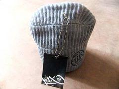 KIX バスケットブランド ワッチ帽子 ヒップホップ 灰 グレー